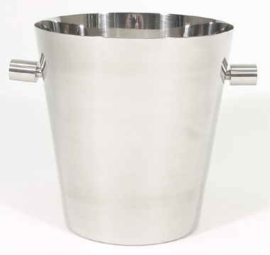 Polished Stainless Steel Champagne Bucket