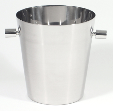 Brushed Stainless Steel Champagne Bucket