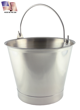 13 Quart Stainless Steel Pail with Chime