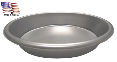 "7-1/2"" Diameter Stainless Steel Pie Plate"
