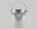 Tapered Heavy Duty Stainless Steel Pails