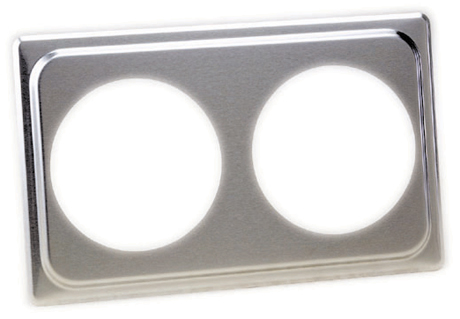 Two Hole Stainless Steel Adapter Plate