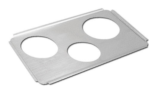 Three Hole Stainless Steel Adapter Plate