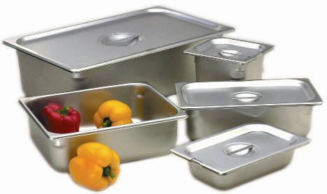 "1/6 Size, 6"" Deep Solid Steam Table Pan"