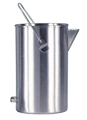 20 Quart Straight Sided Pail with Pouring Spout