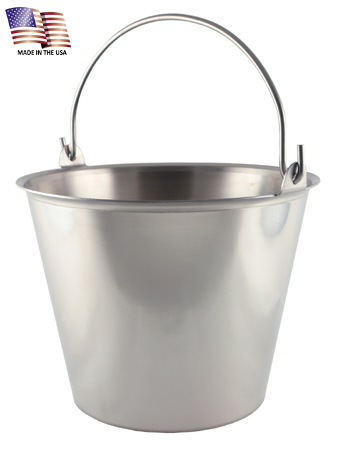 13 Quart Stainless Steel Pail