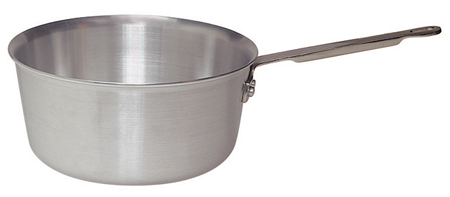 1-1/2 Quart Tapered Aluminum Sauce Pan
