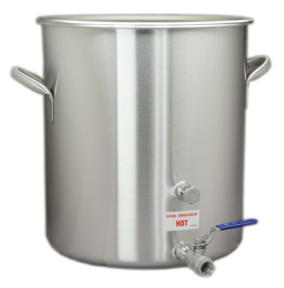 60 Quart Stock Pot With Faucet & Cover