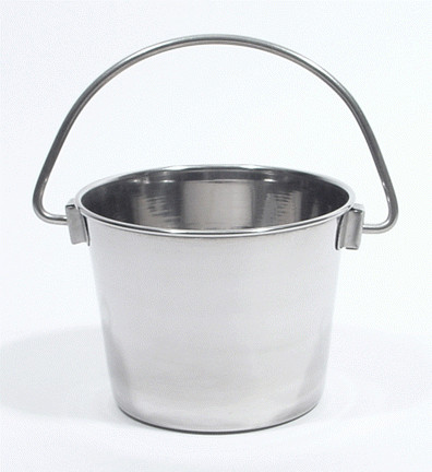8 Ounce Stainless Steel Utility Pail