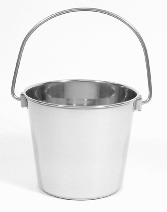 2 Quart Stainless Steel Utility Pail