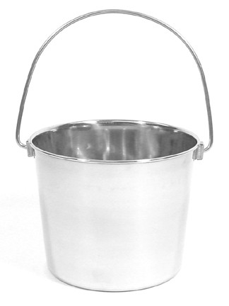 4 Quart Stainless Steel Utility Pail