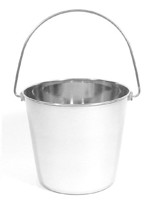 6 Quart Stainless Steel Utility Pail