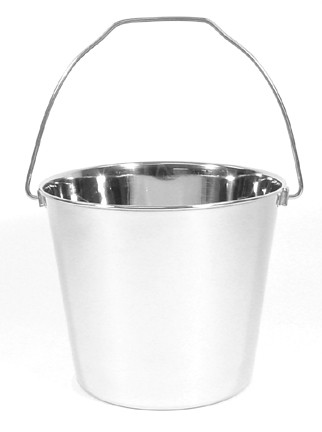 9 Quart Stainless Steel Utility Pail