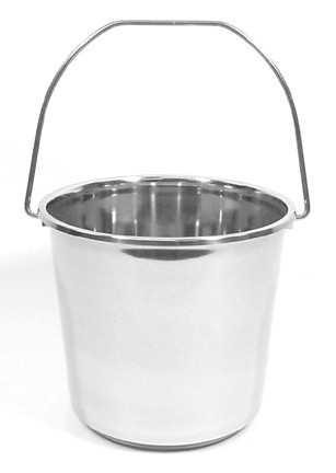 13 Quart Stainless Steel Utility Pail