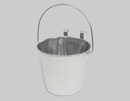 Flat-Sided Stainless Steel Pails