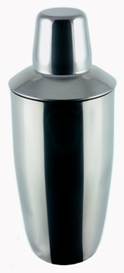 24 Ounce Polished Finish Stainless Steel Cocktail Shaker