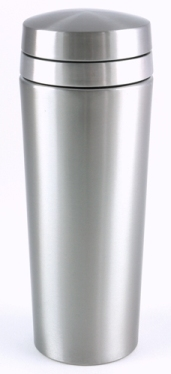 12 Ounce Oval Brushed Finish Cocktail Shaker